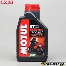 2T Motul Scooter Aceite De Motor Power 100% sintético Ester 1L