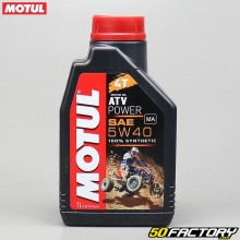 Motoröl 4T 5W40 Motul ATV Power 100% Synthese 1L