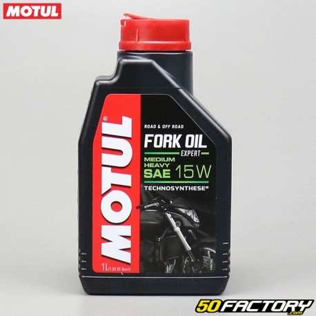Aceite De Horquilla Motul Fork Expert Oil Medium / Heavy 15W 1L Technosynthesis