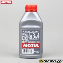 Motul DOT Brake Fluid 3 & 4 Brake Fluid 500ml