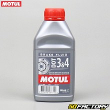 Liquide de frein Motul DOT 3&4 Brake Fluid 500ml