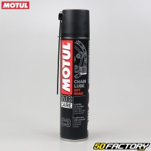 Motul C3 Chain Lube Off Road Bomba para quemar grasas 400ml