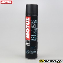 Nettoyant spray Motul E9 Wash & Wax Spray 400ml