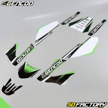 Kit di decorazione Gencod Derbi Senda (2004 a 2010) verde