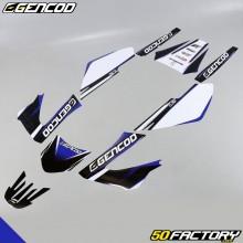 Kit di decorazione Gencod Derbi Senda (2004 a 2010) blu