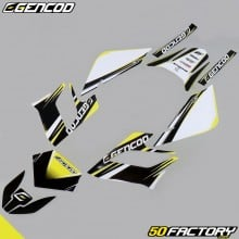 Kit de decoracion Gencod Derbi Senda DRD Racing (2004 a 2010) amarillo