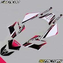 Kit de decoracion Gencod Derbi Senda DRD Racing (2004 a 2010) rosa