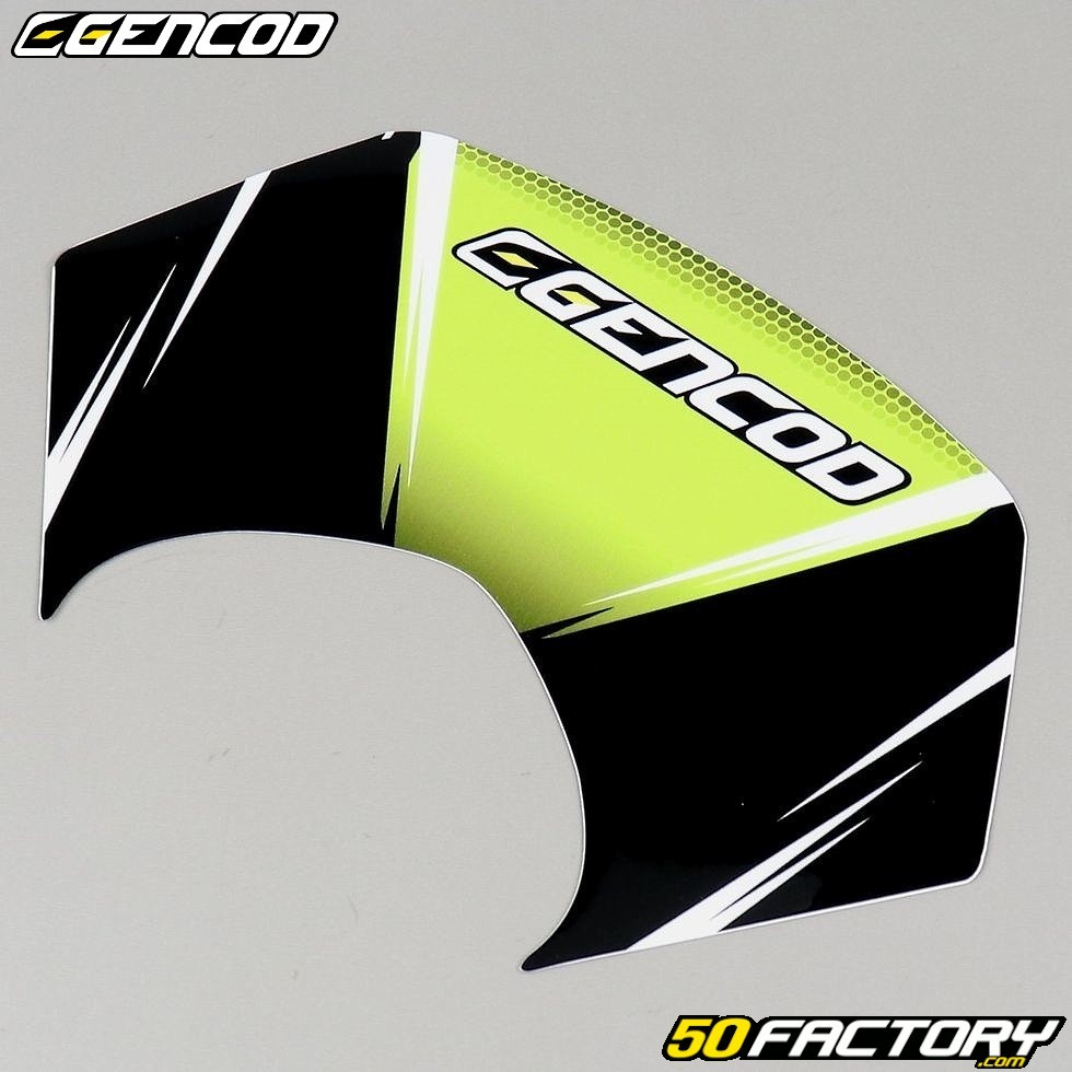 9eb2d6078 Graphic kit Gencod Derbi fluorescent green Senda DRD Pro - Spare Part