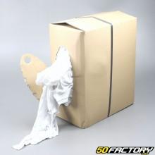 Panni per la pulizia di officine meccaniche - Bianco (10kg)