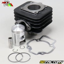 Cylindre piston Piaggio air Zip, Typhoon, Stalker... 50 2T DR Racing