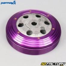 Cloche d'embrayage Ø107mm violette Piaggio air et liquide Typhoon, Nrg... Parmakit