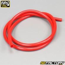 Red gasoline hose