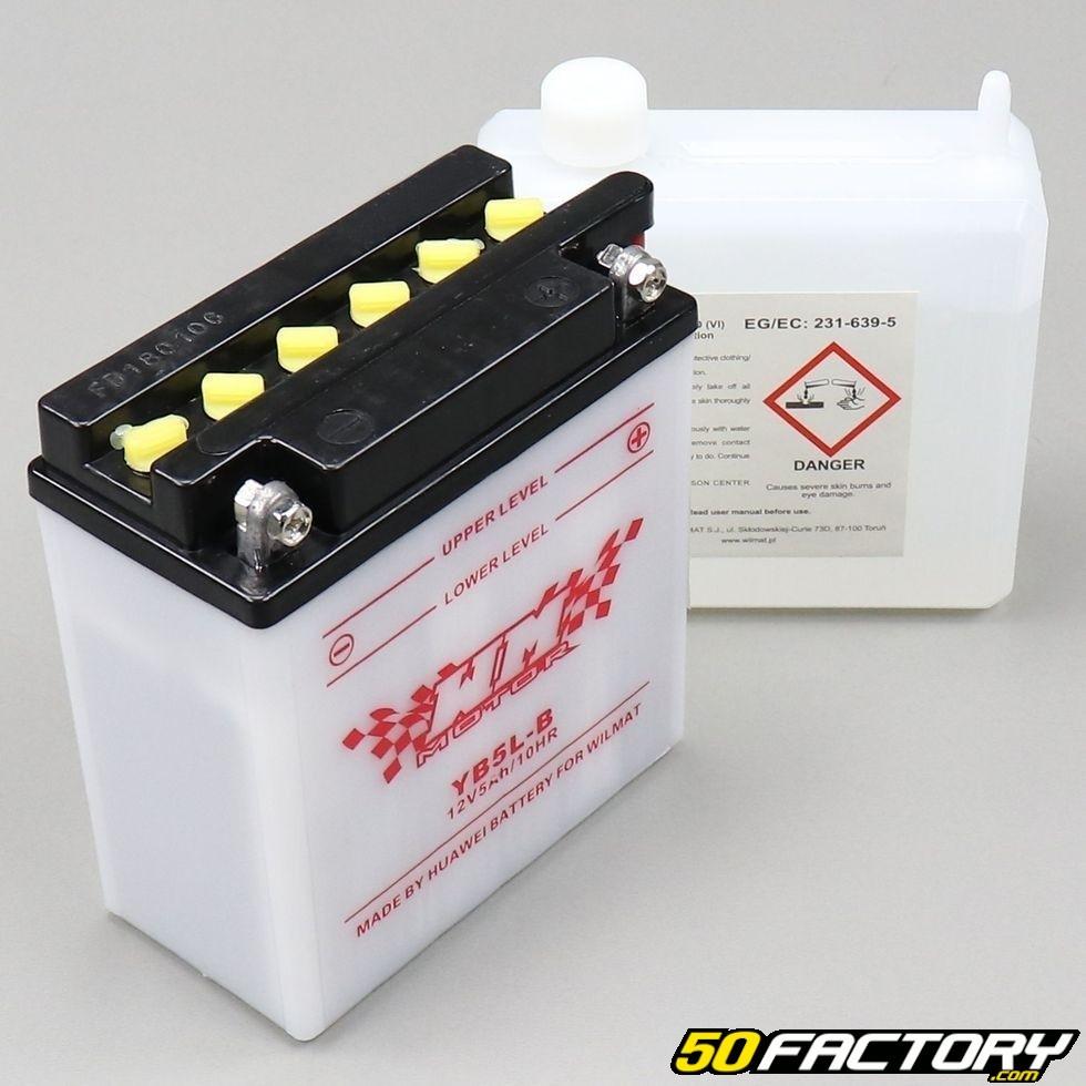 12n5-3b 12 V 5 Ah Batterie Moto Scooter Quad Scooter 12 V 5ah 12 V