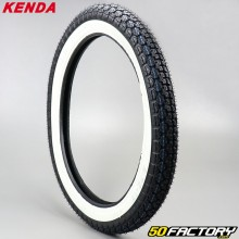 2 3 / 4-17 Tire Kenda K265 white sides moped