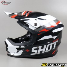 Helmet cross Shot Furious Score black and red