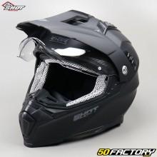 Helm cross Shot Ranger mattschwarz Größe XS