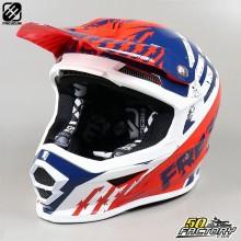 Helm cross Freegun XP4 Outlaw blaue und rote Größe XS