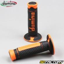 Puños Domino A260 cross negro y naranja