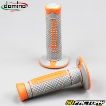 Handle grips Domino A260 cross gray and orange