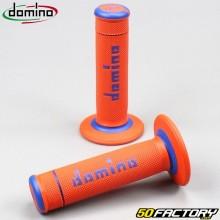 Maniglie Domino A190 cross arancione e blu
