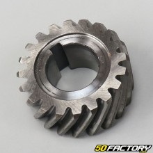 Crankshaft sprocket and upper clutch AM6 minarelli