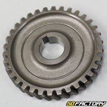 Crankshaft sprocket and lower clutch AM6 minarelli