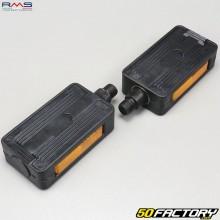 Par de pedales de plástico M14x125. Peugeot 103, MBK 51