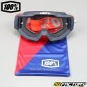 Masque 100% Accuri OTG Gunmetal écran clair