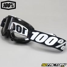 Masque 100% Accuri OTG Tornado noir écran clair