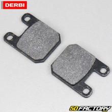 Pastilhas de freio orgânicas Derbi Senda (antes de 2011), XP6, TKR,  Yamaha... origem
