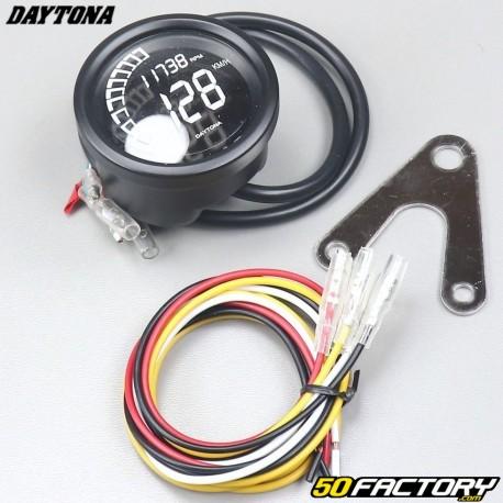 Compteur de vitesse et compte tours Daytona Velona Digital