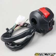Right headlight switch and adaptable universal starter