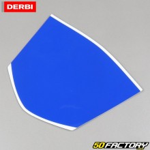 Original headlight fairing sticker Derbi Senda,  Gilera SMT,  RCR,  Aprilia RX et  SX (from 2018) blue