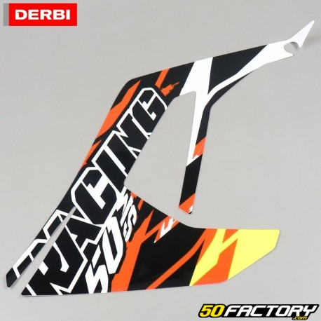 Originaler Linker Vorderer Aufkleber Derbi Senda Xtreme Von 2018 Racing