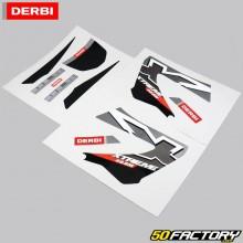 Kit de decoración original Derbi Senda Xtreme (2000 a 2010) gris