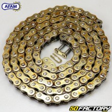 Chain 420 Afam reinforced 126 gold links
