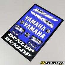 Lámina de pegatinas Yamaha MX 23x33cm