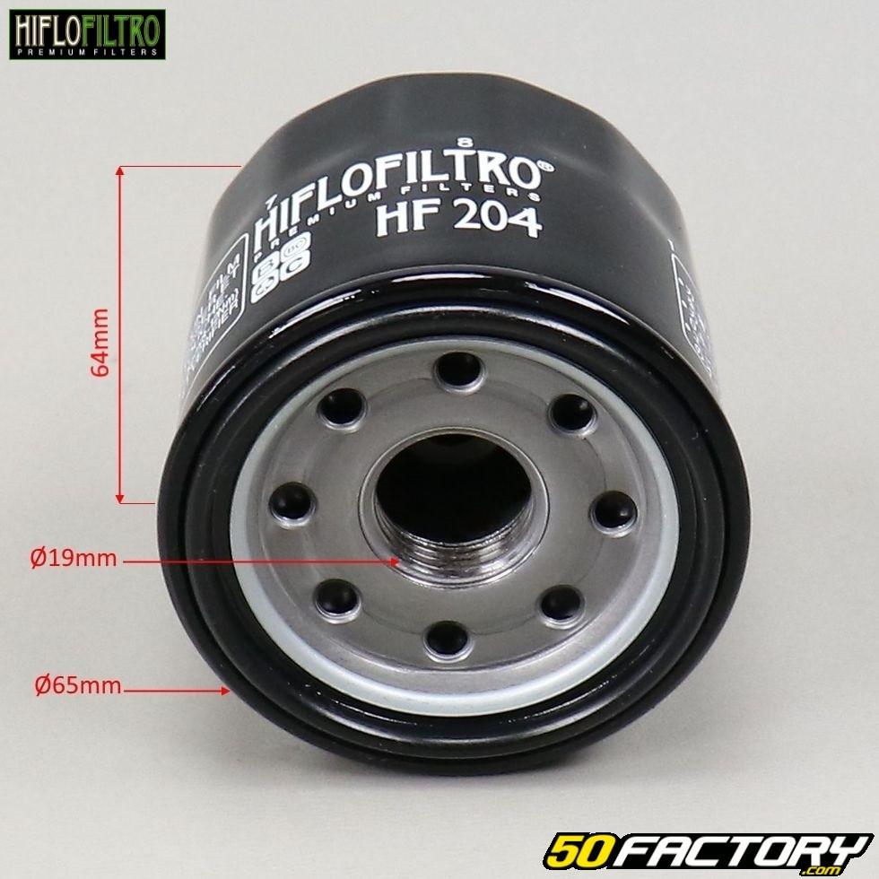 Hiflofiltro HF204 Oil Filter For 2001 Honda CBR600F F4I