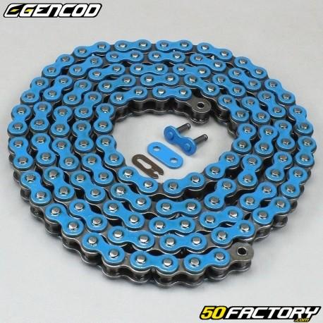 Chaîne bleue renforcée 420 H 138 maillons Gencod