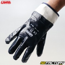 Lampa blue nitrile mechanic gloves
