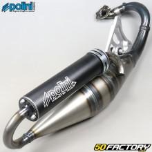 Pot d'échappement Polini scooter team 4 Minarelli horizontal MBK Nitro, Ovetto, Yamaha... 50 2T