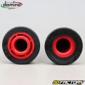 Maniglie Domino racing cross rosso e nero