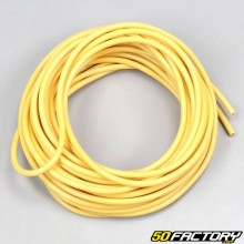 Electric wire 0.5mm universal yellow (5 meters)