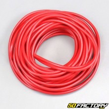 Electric wire 0.5mm universal red (5 meters)