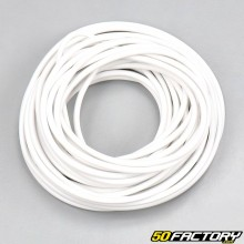 Electric wire 0.5mm universal white (5 meters)