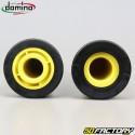 Maniglie Domino racing cross giallo e nero