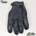Restone gloves homologated CE motorcycle black size L