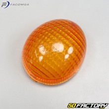 Orange universal flashing cabochon Peugeot,  Rieju...