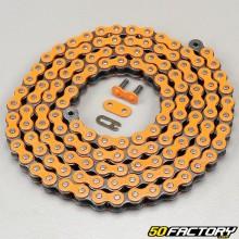 Neon orange color chain