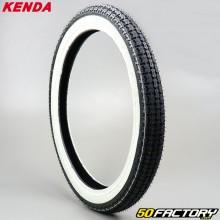 2 1 / 4-16 Tire Kenda K252 TT white sides moped